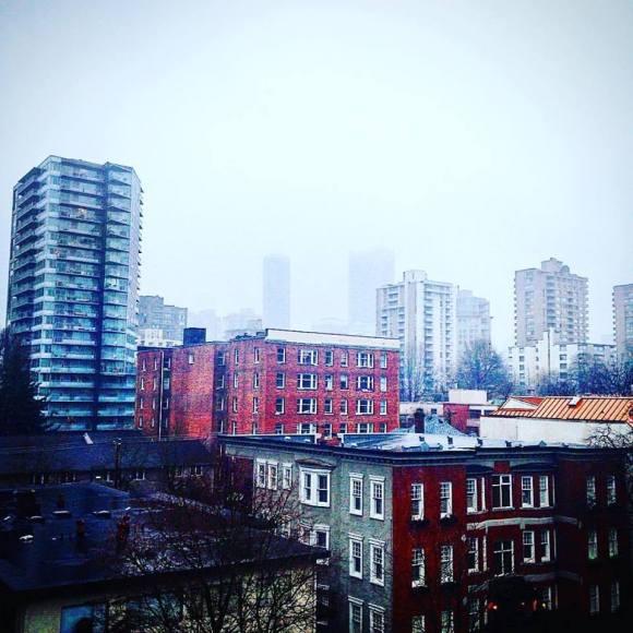 Rainy Vancouver - December 13, 2015