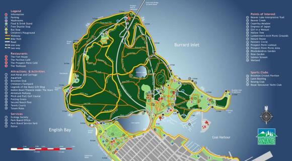 Seawall Map