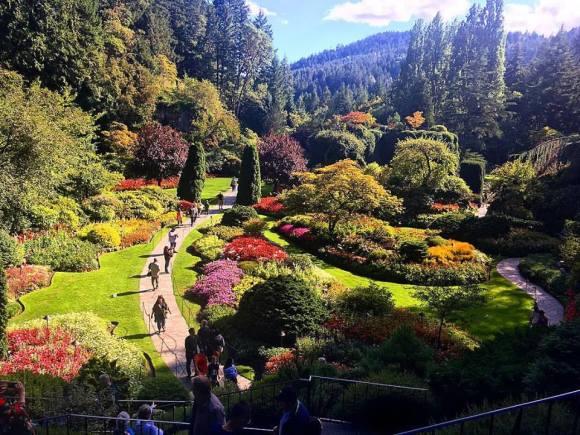 090316 Butchart Gardens